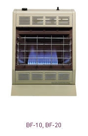 Bf 10 10 000 Btu Blue Flame Vent Free Room Heater By