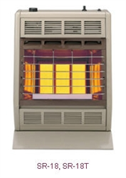 Sr 18 18t 18 000 Btu Infrared Vent Free Room Heater By