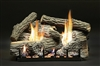 LX-WRS - Super WildWood Refractory Log Set with Slope Glaze Burners by White Mountain