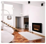 EF39S Electric Fireplace by Napoleon