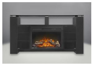 "The Foley NEFP27-1015B Cinema 27"" Electric Fireplace & Mantel Package by Napoleon"
