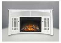 "Napoleon NEFP27-0815W 27"" Cinema Electric Fireplace - White Finish"