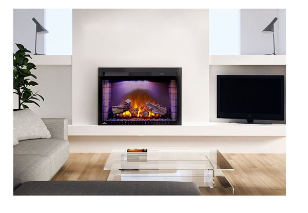 "29"" Electric Fireplace. Clean"