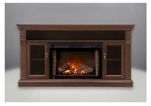 "The Braxton NEFP29-1215BW Cinema 29"" Electric Fireplace & Mantel Package by Napoleon"