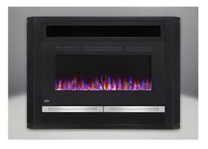 "Napoleon NEFP42-1815B 42"" Allure Electric Fireplace -Black Finish"