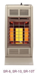 SR-6 6,000 BTU Infrared (Vent-Free) Room Heater by Empire Heating Systems