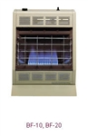 BF-20 20,000 BTU Blue-Flame (Vent-Free) Room Heater by Empire Heating Systems