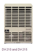 Dv 210 215 Small Wall Furnace Empire Heating