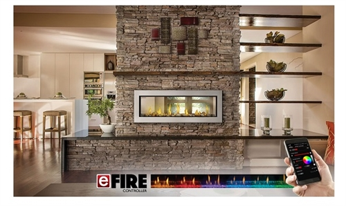 LV50N Vector See-Thru Linear Gas Series Fireplace