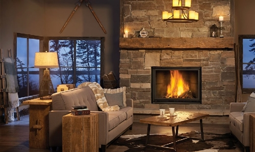 High Country NZ8000  Wood Burning Fireplace by Napoleon