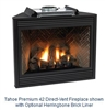 "DVD42FP30 - 42"" Tahoe Premium (Direct Vent) Fireplace by White Mountain"