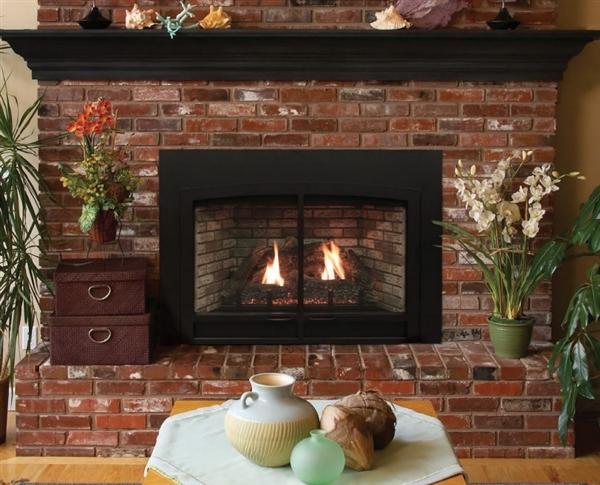 direct vent fireplace insert idv43 larger photo white mountain dv33in33l innsbrook fireplace