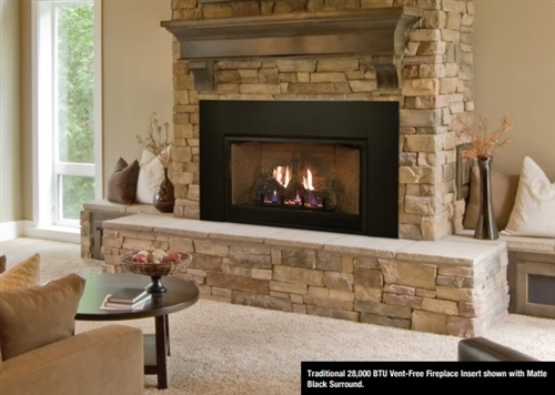 VFPC28IN Innsbrook Vent-Free 28,000 BTUs Fireplace by White Mountain