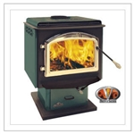 1100 Pedestal Wood Burning Stove Heating by Napoleon