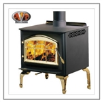 1100ML Leg Model Wood Stove by Napoleon